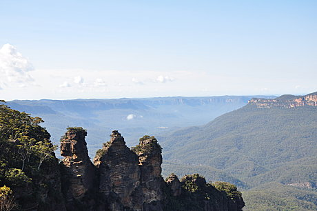 Three Sisters at 'Echo Point'