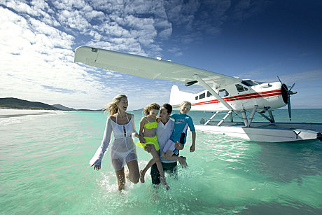 Enjoy the crystal clear waters of Whitehaven Beach