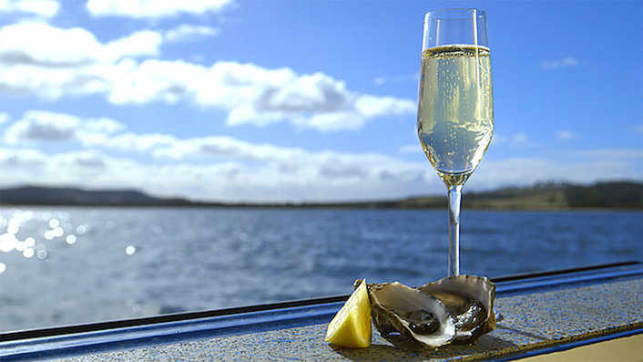 Sparkling and Oysters