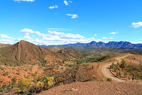 Razorback Lookout in the Flinders Ranges
