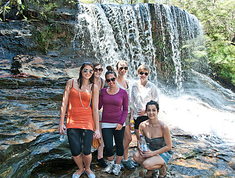 Photo stop at Blue Mountains