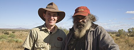 SEIT Outback Australia guide with Wally, Anangu host