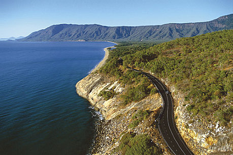 Follow the coast to Port Douglas