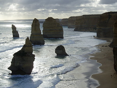 The Great Ocean Road's famous 12 Apostles