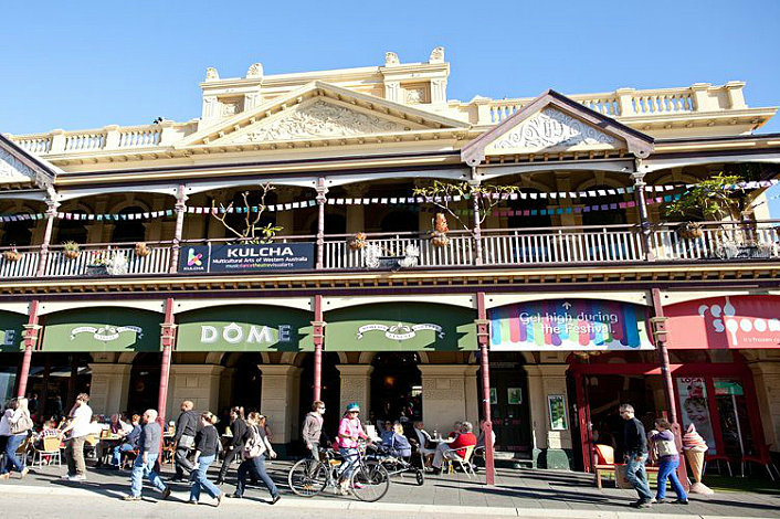 Grab a coffee in Fremantle