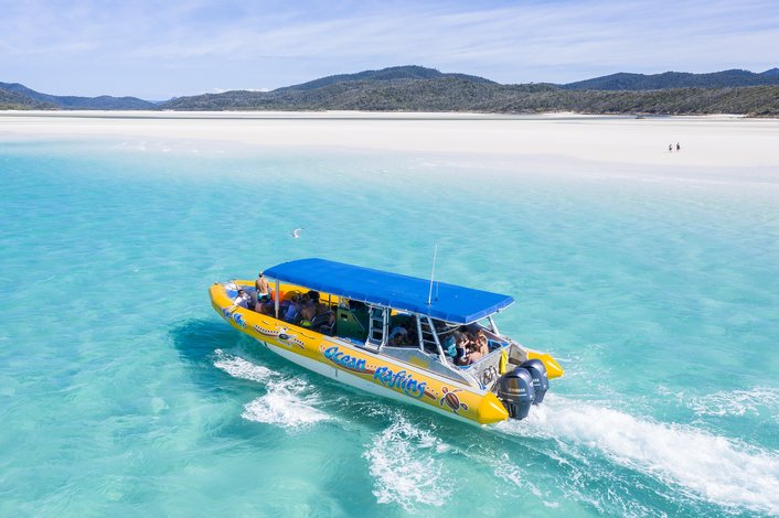 Direct Access to Whitehaven Beach