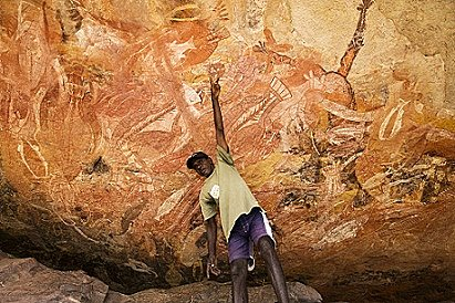 Rock art tour, Arnhem Land