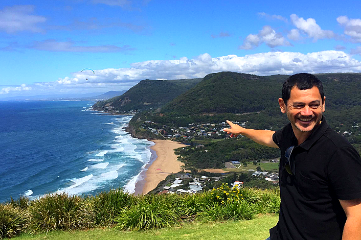 Stunning South Coast scenery along the Grand Pacific Drive