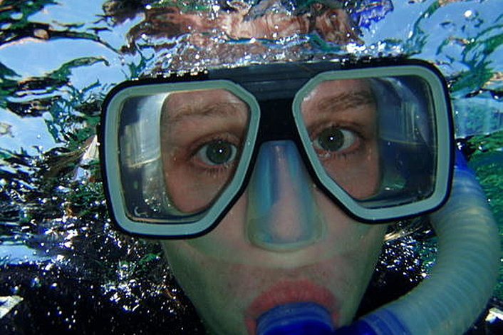 Snorkelling equipment hire