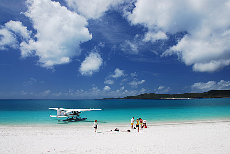 Your very own private patch of Whitehaven Beach