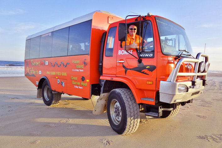 Sunset Safaris 4WD Bus