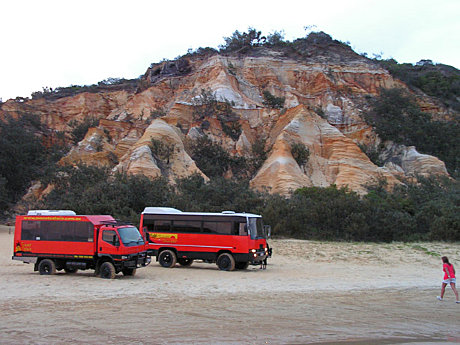 Coloured Sands - Fraser Island