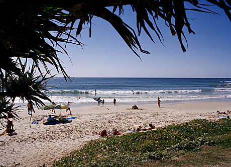 Byron Bay beachscape