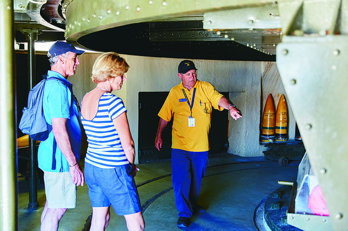 Tour within the guns, Oliver hill, Rottnest Island