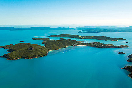 View from Whitsunday Island
