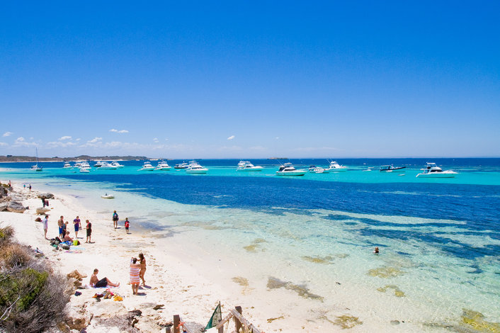 Explore Rottnest's pristine bays and beaches