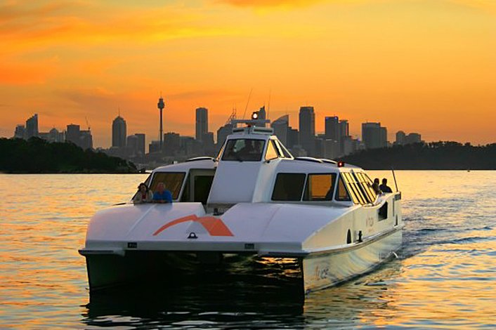 Sydney Harbour ferry ride