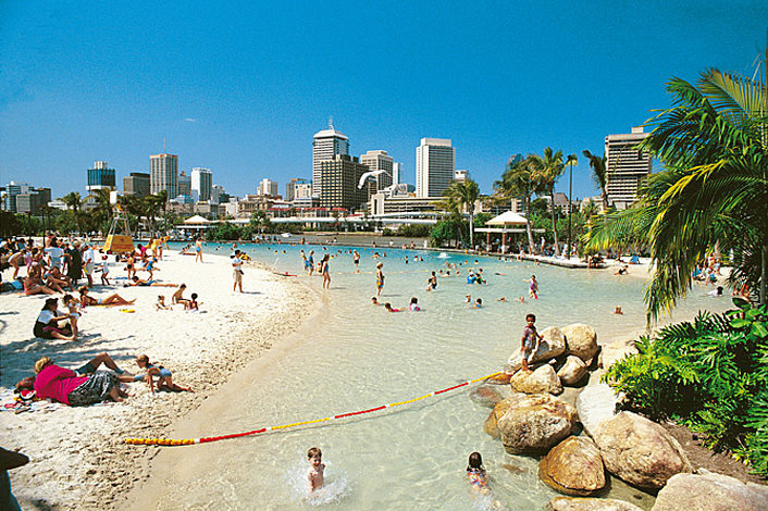 South Bank Parklands - Streets Beach