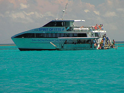 Our Boat - Great Barrier Reef