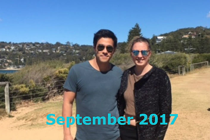 Home and Away Star with Tour Pax