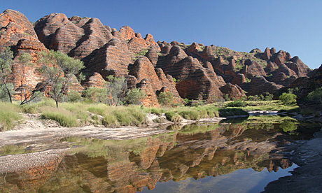 The World Heritage-listed Bungle Bungles