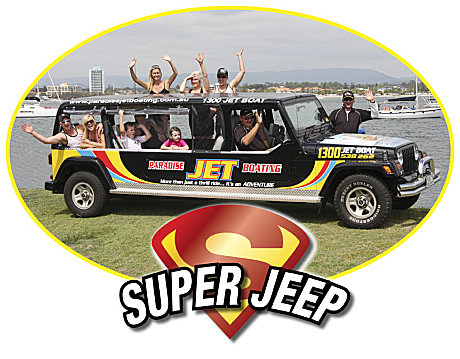 Free 'Super Jeep' Transfers