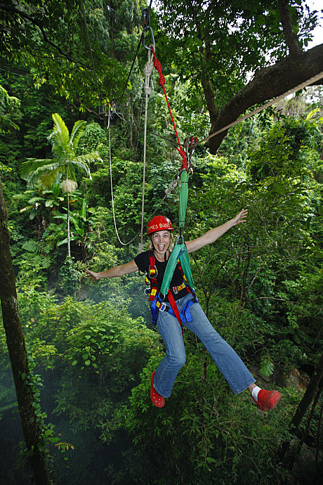 Jungle Surfing Hands Free!