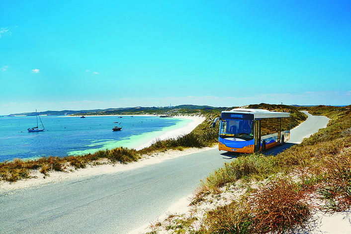 Enjoy a scenic and informative coach tour around the Island