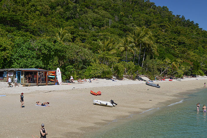 The Beach at Fitzroy Island