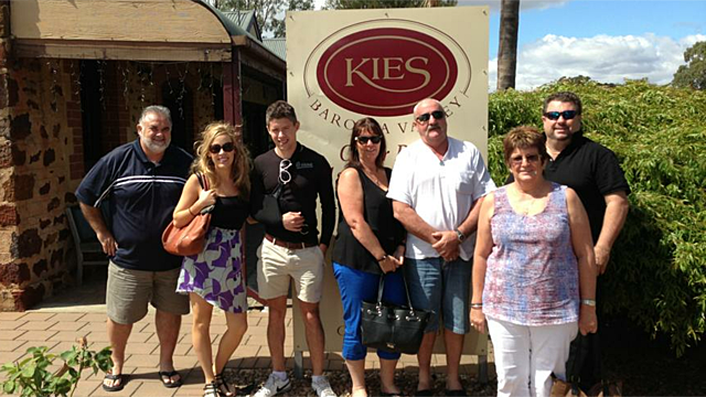 Kies For lunch and tastings