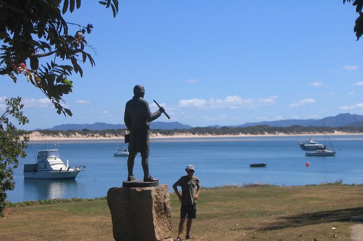 History is everywhere in Cooktown