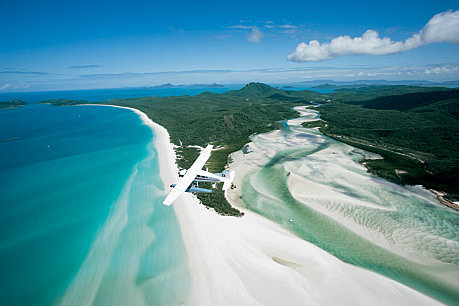 See Whitehaven Beach and Hill Inlet from our vantage point