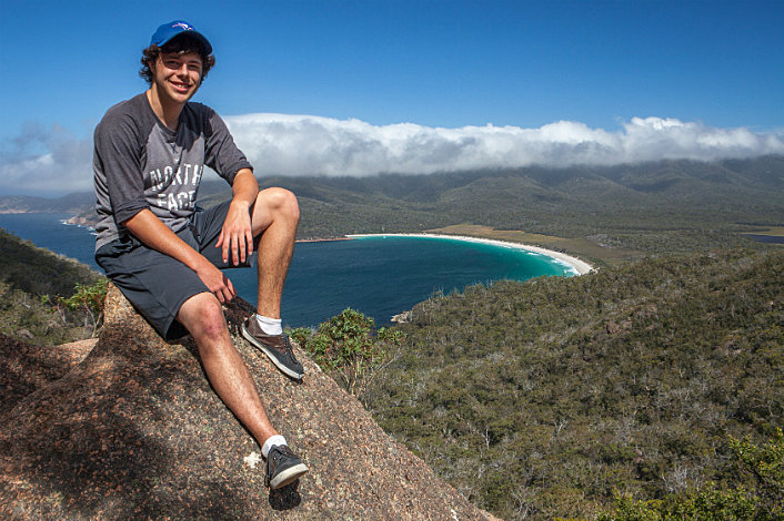 Views over Wineglass Bay