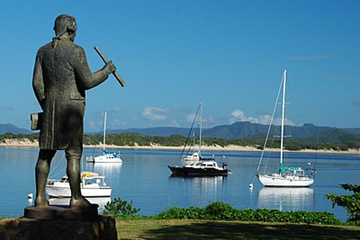 History abounds in Cooktown.