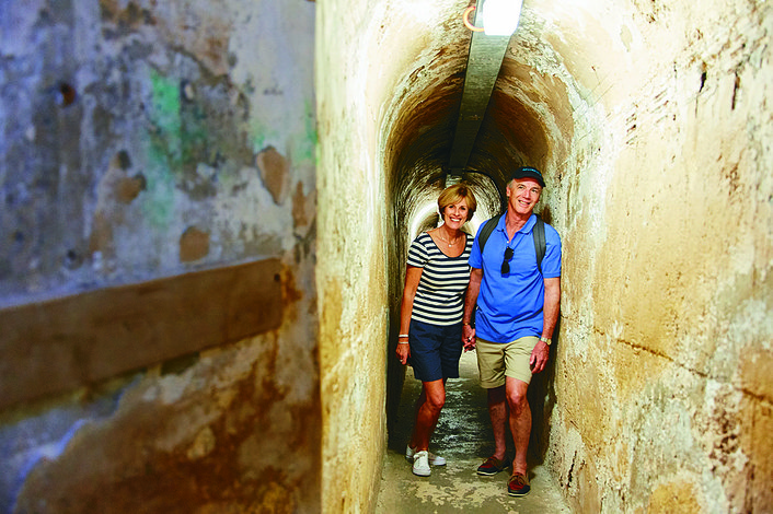 Explore Rottnest's historical WWII tunnels