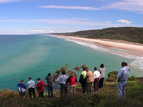Double Island Point. FREE Cooloola Tour