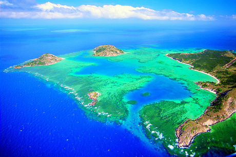 Fly into Lizard Island