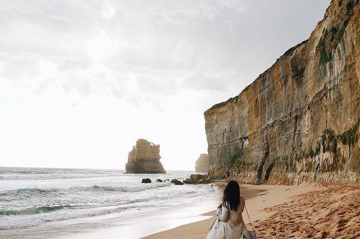 Gibsons Beach in the Port Campbell National Park