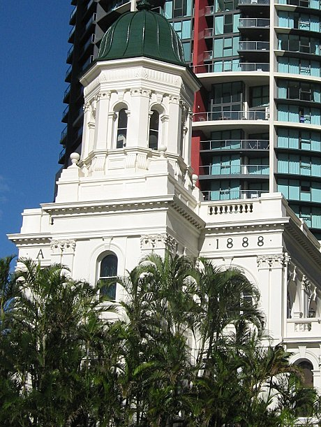 The historical face of Brisbane