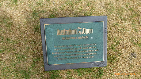 Birthplace of the Australian Open