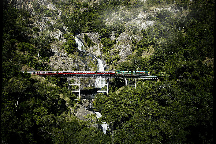 Kuranda Scenic Rail at Stony Creek Falls
