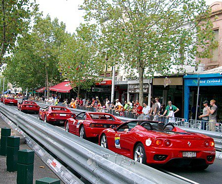 The Cars of Lygon Street