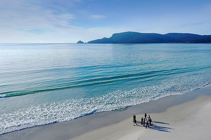Walk Along Secluded Bruny Island Beaches