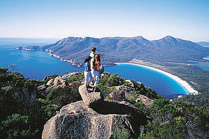 Lookout over Wineglass Bay