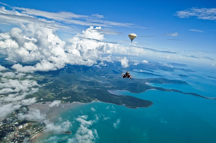Skydive Airlie Beach #2