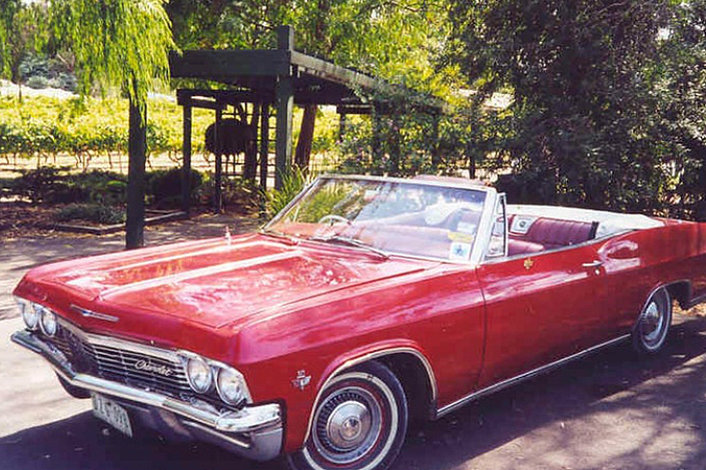 Our Red '65 Chevy Impala Convertible