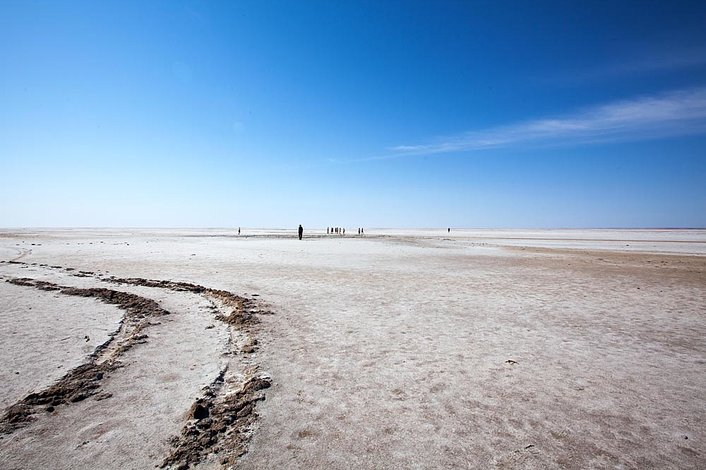 Lake Eyre by Sue Callaghan