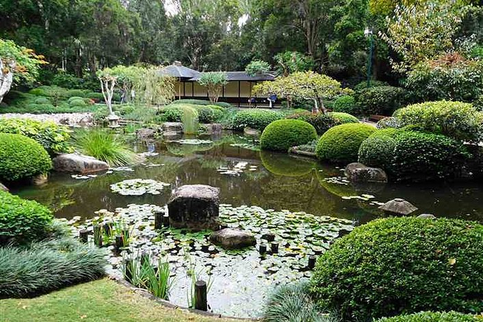 Japanese Gardens at Mt Coot-tha Botanical Gardens