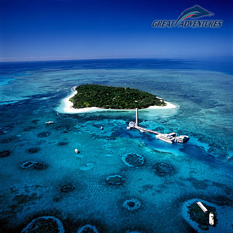 Enjoy 2 hours on beautiful Green Island
