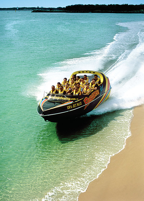 Our Jetboat operates in as little as 10cm of water!